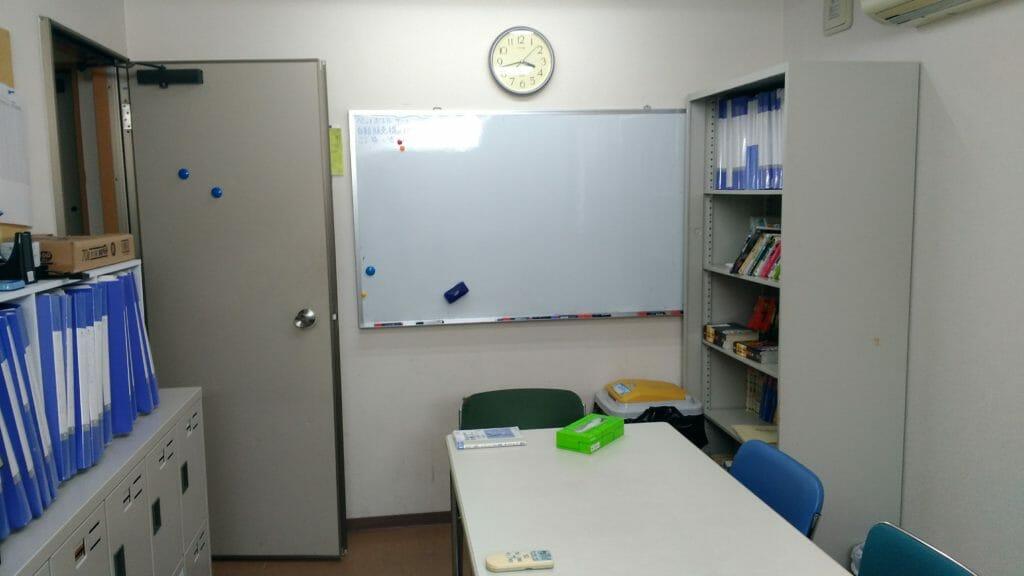 あすか塾3階中央の部屋