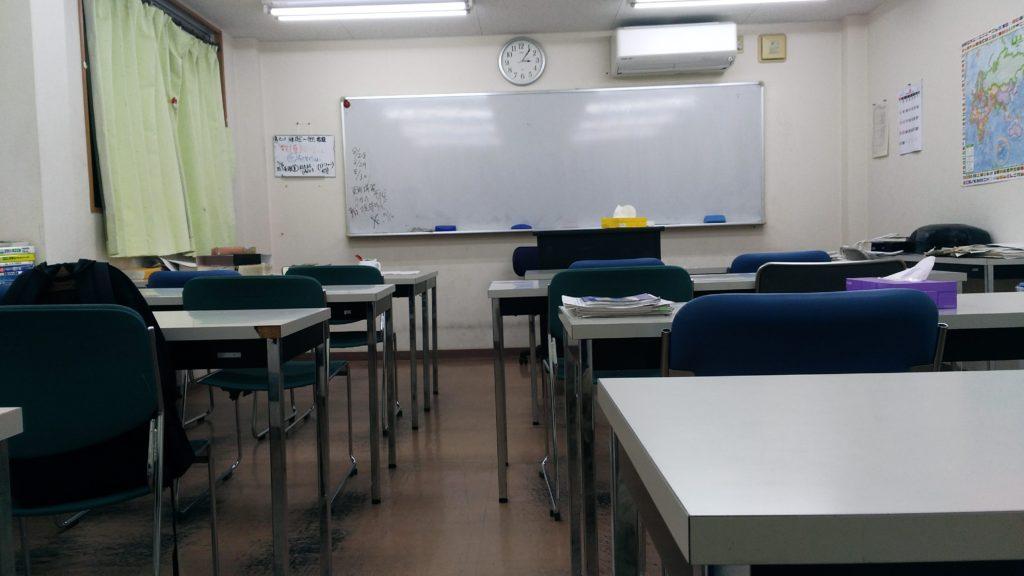 3階大教室、後ろから