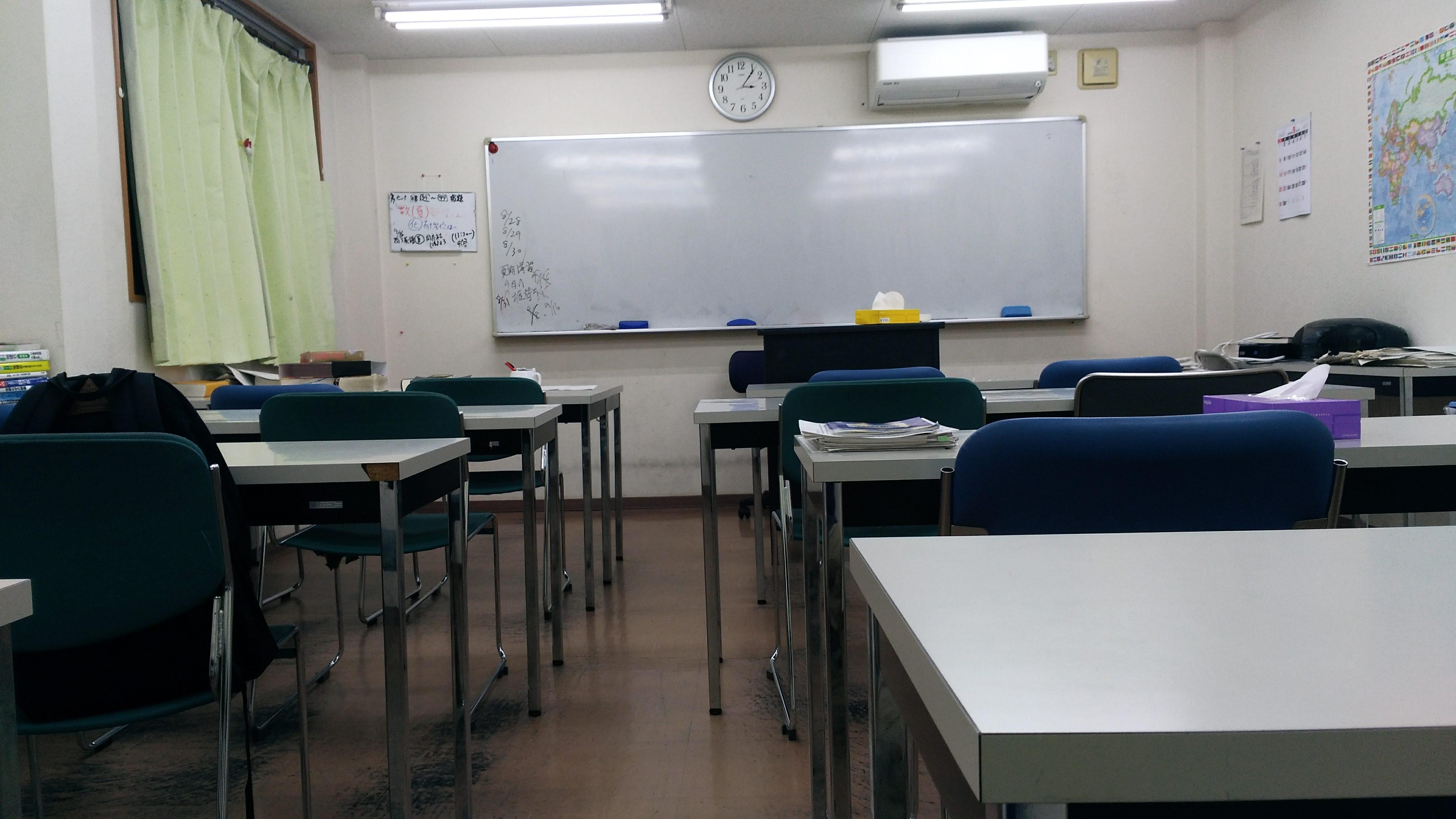 あすか塾甲子園校3階の大教室
